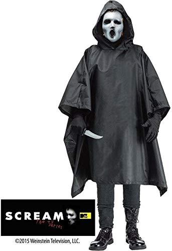 Kostüm Serie Scream Tv - Scream TV Costume Adult Standard (Mask and black cloak included)