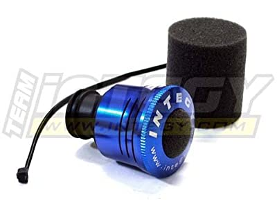 Integy RC Hobby C22473BLUE High Flow Air Filter Type III 15-28 Size Nitro Engine