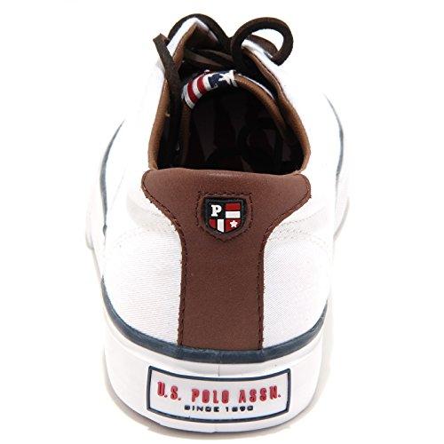 U.S. Polo ASSN. - Shoes - Sneakers Uomo, Scarpe da Uomo Casual con lacci in pelle - GALAD4148W3-CL9 Bianco