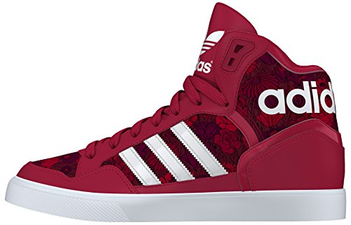 adidas - EXTaball W, Scarpe sportive Donna Rosso (Bold Red/Ftwr White/Tech Ink)