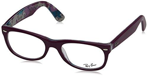 Ray-Ban Unisex-Erwachsene New Wayfarer Sonnenbrille, Violeta, 52