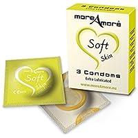 MoreAmore - Condom Soft Skin 3 pcs preisvergleich bei billige-tabletten.eu