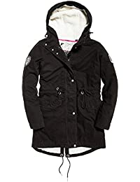 E Superdry it Donna Cappotti Giacche Amazon Abbigliamento 7aqdt5