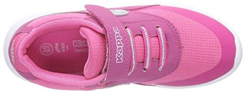 Kappa MILLA Unisex-Kinder Sneakers Pink (2215 pink/silver)