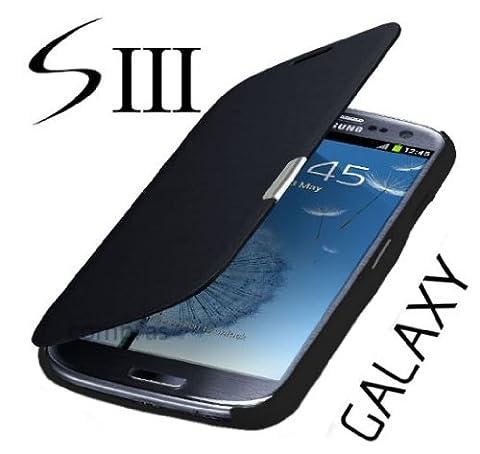 Q1 Étui à rabat pour Samsung Galaxy S3 i9300/S3 LTE