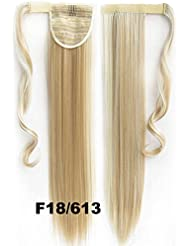 22inch 90g Dreamstyle Clip In Straight Ponytail Hair Extensions Wrap Around Pieces18