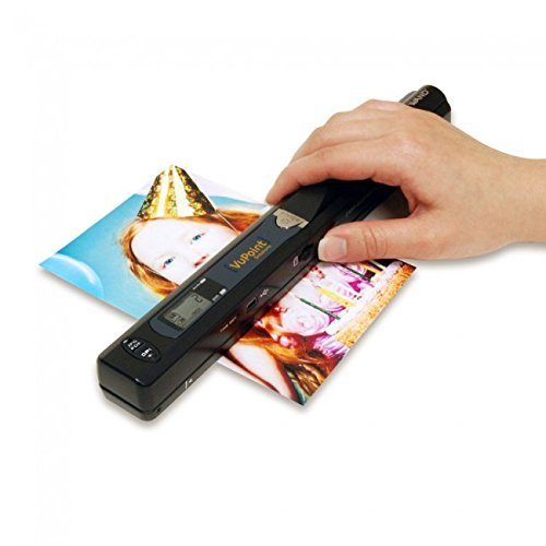 Magic Wand Portable Scanner (Black) (Color Scanner Portable)
