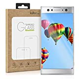 kalibri Sony Xperia XA2 Ultra Folie - 3D Glas Handy Schutzfolie für Sony Xperia XA2 Ultra - Auch für gewölbtes Bildschirm