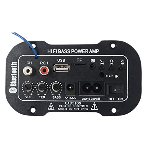 Tree-on-Life Subwoofer Digital Verstärkerplatine Dual Mikrofon Karaoke Verstärker 5 Zoll 220 V Lautsprecherplatine DIY 400w 4 Ohm Subwoofer