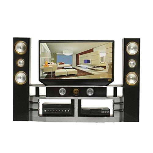 TOOGOO Hi-Fi TV Television Muebles para Casa de munecas meuble