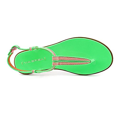 Via Spiga Cynna Femmes Synthétique Tongs Neon Green