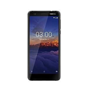 Nokia 11ES2B01A17 Nokia 3.1 (Version 2018) Nokia 3, Dual-Sim Schwarz/Chrome