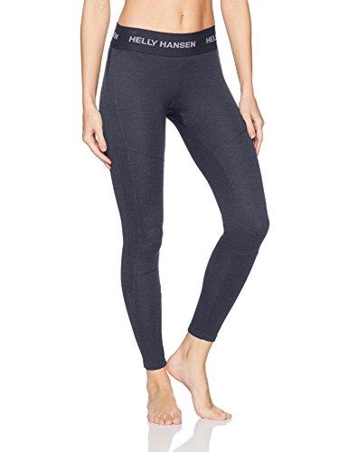 Helly Hansen Base Layer, Pantaloni Sportivi Donna, Graphite Blue, S