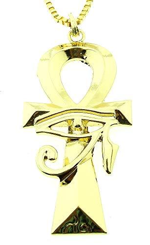 Lovelegis Damen Halskette - Stichwort - Auge - Ankh - Ägypten - Ägyptisch - Groß - Geburt