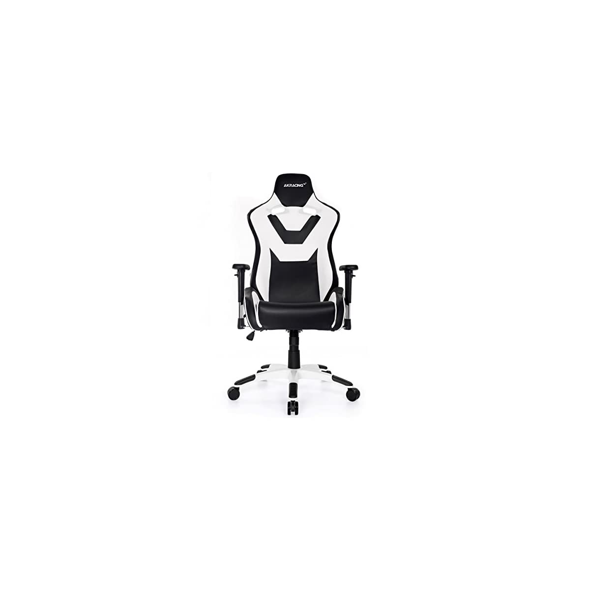 41OGY0mycOL. SS1200  - AKRacing CP - AK-CP-BW - Silla Gaming, Color Negro/Blanco