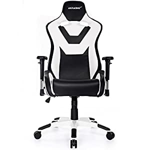 AKRacing CP – AK-CP-BW – Silla Gaming, Color Negro/Blanco