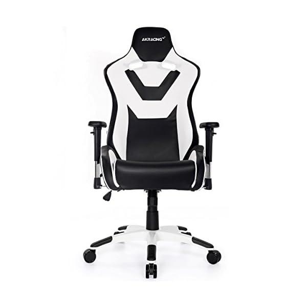 AKRacing CP – AK-CP-BW – Silla Gaming, Color Negro/Blanco