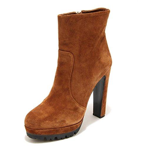 2529G stivaletto tronchetto PRADA SCAMOSCIATO OLD scarpa stivale donna boots sho [36.5]