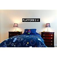 Platform 9 3/4 Harry Potter Childrens Wall Sticker Decal 60x10 - G Direct