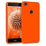 kwmobile Huawei P8 Lite (2017) Hülle - Handyhülle für Huawei P8 Lite (2017) - Handy Case in Neon Orange
