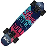 SONGLIPANG Sport all'Aria Aperta personalità Scorrevole Piccolo Piatto di Pesce A Quattro Ruote Skateboard, Seven-Layer A-Class Maple Deck può Sopportare Il Peso di 200 kg