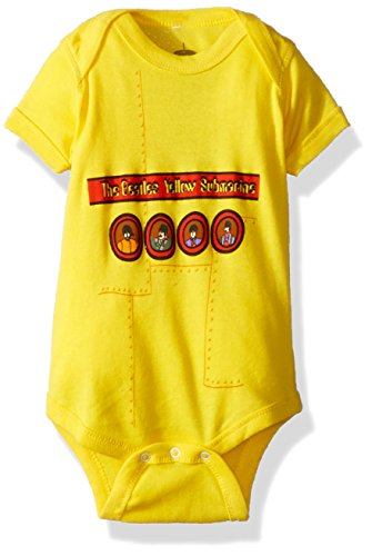 The Beatles Yellow Submarine Bébé Romper T-Shirt - Baby T-shirt Romper