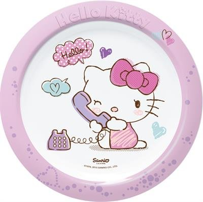 Trudeau 6516010H Hello Kitty So Lovely Plaque Mélamine Multicolore 20 x 15 x 5 cm