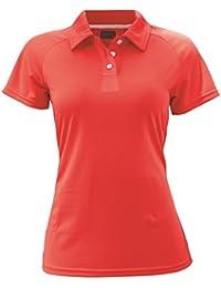 2117of Sweden frosaker Polo para mujer, color Rojo - signal red, tamaño 38 [DE 36]