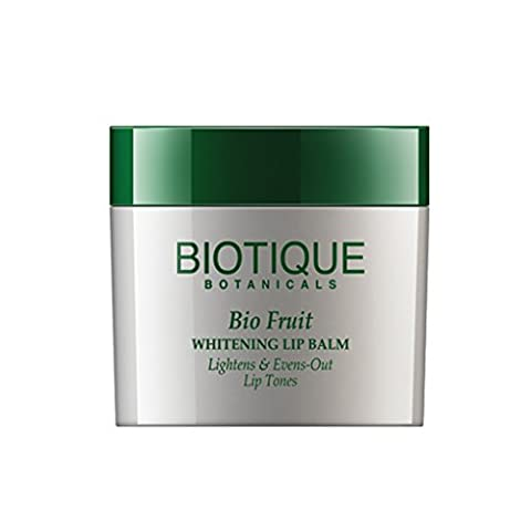 Biotique Fruit Whitening Lip Balm Lightens and Evens-Out Lip