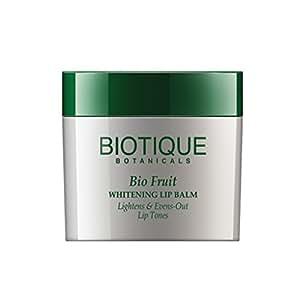 Biotique Fruit Whitening Lip Balm Lightens and Evens-Out Lip Tones