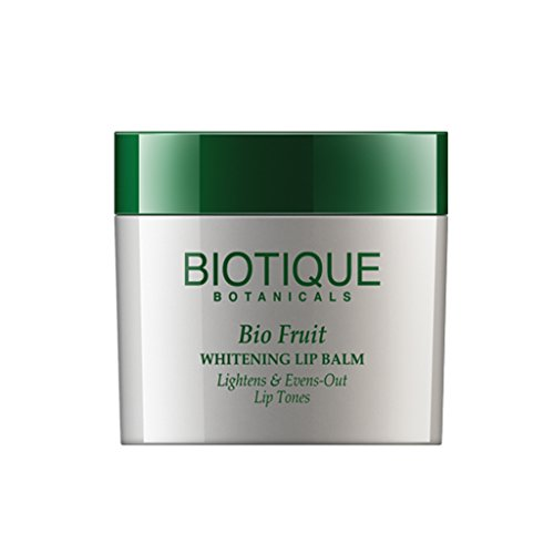 Fruit Lip Balm (Biotique Fruit Whitening Lip Balm Lightens and Evens-Out Lip Tones)