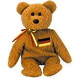 Germania the Bear - Ty Beanie Baby (Germany Exclusive)