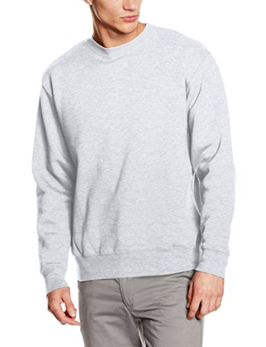 fruit-of-the-loom-ss105m-sudadera-para-hombre-gris-heather-grey-large
