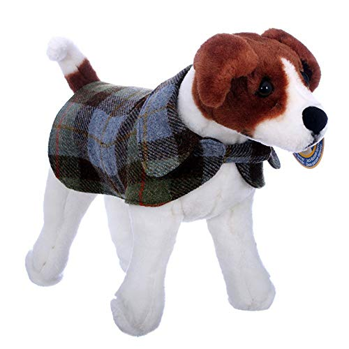 Stoff Traditionellen Tabelle (The Scotland Kilt Company Neu Traditionell Deluxe Gepolstert Verstellbar Schottenkaro Hund Mantel in Macleod - Macleod, 1)