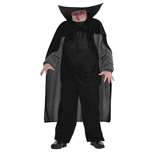 shoperama Halloween Kostüm Kopfloser Reiter für Erwachsene AMS Horror abgetrennter Kopf, Größe:XXL