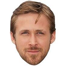 Ryan Gosling Máscaras de personajes famosos, caras de carton