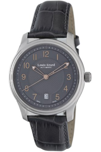 Louis Erard Men's 69267AA03.BDC36 Heritage Grey Automatic Watch