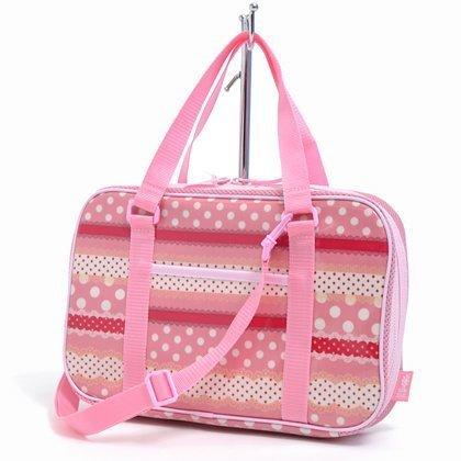 Polka dot and lace Harmony Kids Calligraphy, penmanship set Kuretake ribbon rated on style (pink) made in Japan N2202110 (japan import)