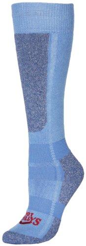 Hot Chillys Damen Premier Mid Volume Socken Medium Sky/Heather -