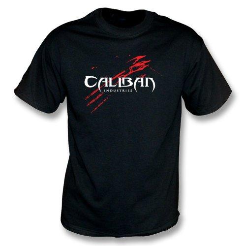 Industrie di Caliban (maglietta Xx-Grande, colore - il nero della lama II)