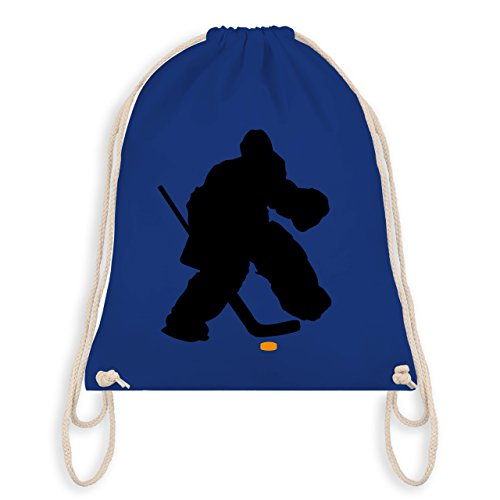 Eishockey - Eishockeytorwart Towart Eishockey - Unisize - Royalblau - WM110 - Turnbeutel & Gym Bag