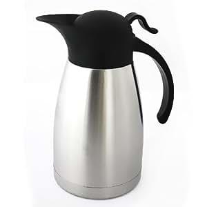 Cafetière/théière isotherme 1 litre en inox
