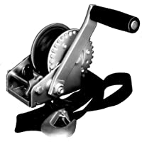 Fulton Single-Speed 900 Pounds Trailer Winch with 12-Feet Strap by Fulton