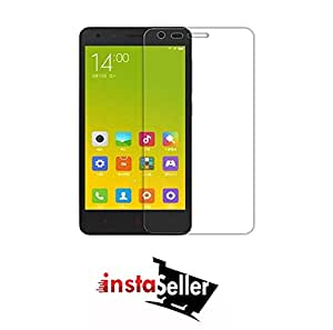 Insta Seller Scratch-resistant Shatterproof 9H High Transmission rate 2.5D Sapphire Technology Tempered Glass Screen Protector for Redmi 2 / Redmi 2 Prime