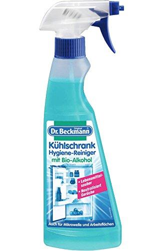 Preisvergleich Produktbild Dr. Beckmann Kühlschrank Hygiene-Reiniger   mit Bio-Alkohol   Mikrowellen & Arbeitsflächen geeignet (250 ml)