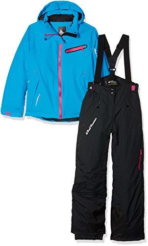 Peak Mountain GasTec Mädchen Skianzug 16 Jahre schwarz/blau