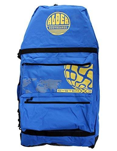 Alder System X3111,8cm Dreier-Bodyboard-Tasche, blau