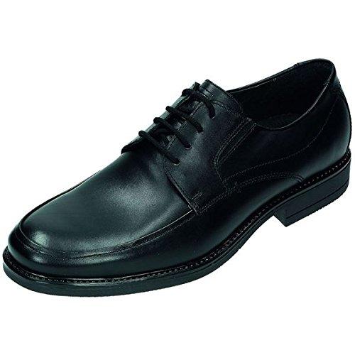 FRETZ men chaussures basses Sydney de lit Cuir, Cuir Pied en PU Semelle Noir - Noir