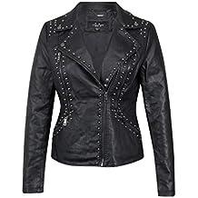 49bbb31e1522 Suchergebnis auf Amazon.de für: Punk Lederjacke Nieten