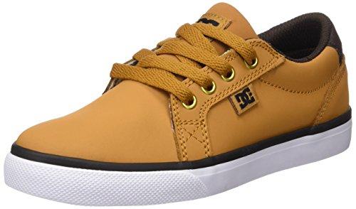 dc-shoes-council-zapatillas-para-ninos-marron-wheat-dk-chocolate-33-eu